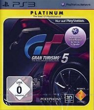 Playstation 3 Gran turismo 5 gt5 platinum excellent état