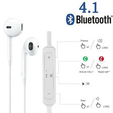 Wireless Bluetooth Stereo Headset Hands-free Headphone Earphone for iPhone LG