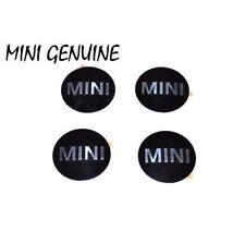 NEW Mini Cooper Set of 4 Wheel Cap Center Emblems Genuine 36 13 6 758 687