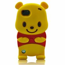 iPod Touch 5th & 6th Gen - Soft Silicone Rubber Cover Skin Case Winnie the Pooh