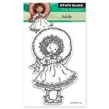 PENNY BLACK RUBBER STAMPS CLEAR ADELE NEW 2016 STAMP