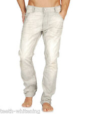 Diesel Men's W30 L32 Light Grey KROOLEY 0887Q Skinny Denim Jeans - RRP $440 AUD