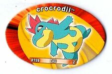 POGS POKEMON YAPS FRANCAIS 159 CROCODIL