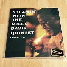 Steamin with the Miles Davis Quintet Analogue Productions Prestige 200g
