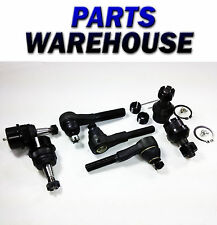 7 Pc Kit Inner Outer Tie Rods Upper Lower Ball Joints 2 Yr Warranty