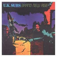 U.K. Subs Brand New Age CD+Bonus Tracks NEW SEALED Punk Warhead/Teenage/Kicks+