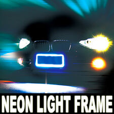 Light Up Neon Tube License Plate Frame Power Surge Lite Glow Lighting Stick C02