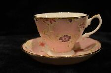 Royal Albert Tea Cup Set- Vintage Florals Blush- Bone China
