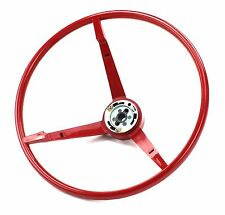 Mustang Steering Wheel Standard Colored 1965 Bright Red - KSI