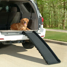 Pet Ramps For Large Dogs Suv Truck Folding Doggie Stairs Ladder Steps Travel