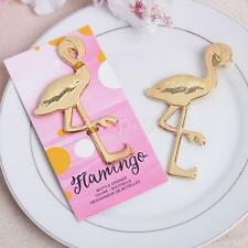 Metal Flamingo Bottle Opener Gift Unique Bridal Shower Beach Wedding Favors