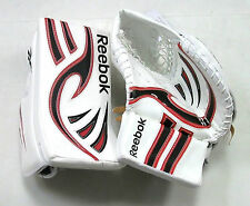 Mis Matched New ice hockey goalie blocker catcher intermediate Reebok glove set