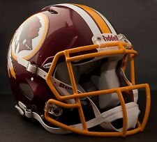 **GAMEDAY-AUTHENTICATED** Washington Redskins NFL Riddell Speed Football Helmet