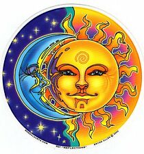 **MANDALA ARTS - WINDOW STICKER - REFLECTIONS - SUN & MOON - BYRON ALLEN**