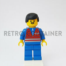 LEGO Minifigures - 1x trn072 - Train Worker - Town Trains Omino Minifig Set 9293
