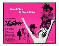 WITCHES LE STREGHE half sheet movie poster 22x28 CLINT EASTWOOD VISCONTI MINT 68