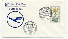 FFC 1975 Lufthansa First Flight  Hamburg Wien 75 BUW e. V. Air Mail