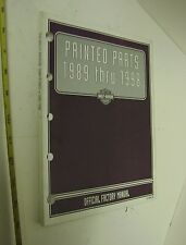 HARLEY  PAINTED PARTS  CATALOG FOR 1989 1998  MODELS