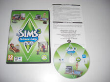 THE SIMS 3 OUTDOOR LIVING STUFF Add-On Expansion Pack Pc DVD / Apple MAC SIMS3