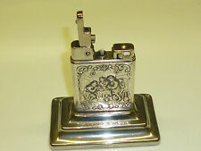 WELTZÜNDER (KREMER & BAYER) TABLE LIGHTER W. 800 SILVER CASE - 1939 -GERMANY