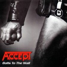 ACCEPT-BALLS TO THE WALL,LP 180 GR,LIMITED EDITION,CLEAR VINYL