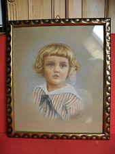 Kinder Porträt von Gallus Roth 1924 blonder Knabe im Matrosen - Hemd