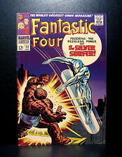 COMICS: Marvel: Fantastic Four #55 (1966), Silver Surfer vs Thing - RARE (thor)