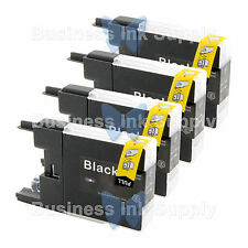 4 BLACK LC71 LC75 Compatible Ink Cartirdge for BROTHER Printer MFC-J435W LC75BK