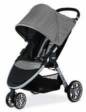 Britax 2017 B-Agile 3 Stroller in Steel Grey Brand New! Free Ground Shipping!