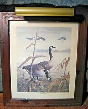 "Ralph J. McDonald Print 20"" x 24"" Signed Twice ""The Sentinel"" Vintage 1960's"