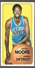 1970-71 Topps Basketball Card #9 Otto Moore - See the close-up pics!