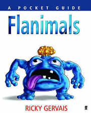 Flanimals (Faber Pocket Guides), Ricky Gervais, New condition, Book