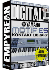 Yamaha Motif ES-8 Sounds NKI Kontakt Instrument Samples Library Mac Windows