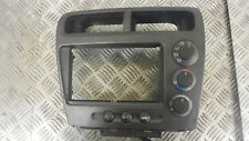 2001 HONDA CIVIC 1.4 5DR HEATER AIR CONDITIONING CONTROLS 77251-S6A-0032