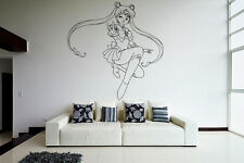 Wall Vinyl Sticker Decal Anime Manga Sailor Moon Girl VY203