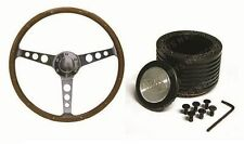 MAZDA R100 RX2 CAPELLA  SAAS Classic Steering Wheel 365mm Wood Grain & Boss Kit
