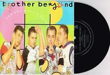 """BROTHER BEYOND - CAN YOU KEEP A SECRET - RARE 7"""" SAMPLE VINYL RECORD w PIC SLV"""