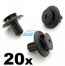 20x 7mm Plastic Trim Clips for Subaru Wheel Arch Linings & Engine Bay Covers