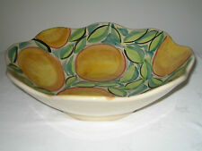 MARKS & SPENCER  M & S VINTAGE APRICOT HARVEST LARGE FRUIT BOWL  BRAND NEW