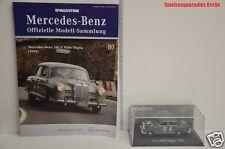 Nr. 80 DeAgostini 1:43 - M. Benz Sammlung 180 D Mille Miglia (1955) + Heft  #