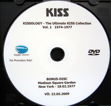 CD / DVD / KISS / KISSOLOGY / VOL.1 1974-1977 / RARITÄT / BONUS / PROMO /