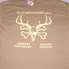 T-shirt XL Desert Tan FREE SHIPPING ON WHOLE ORDER W PURCHASE Extra Large Grande