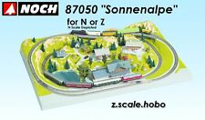 "NOCH 87050 N Scale Sonnenalpe Train Layout Form 30""x20"" NEW Ship from USA"