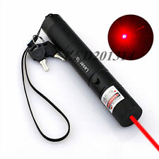 High Power 301 Red Laser Pointer Pen Adjustable Focus 650nm Burning Lazer 1MW