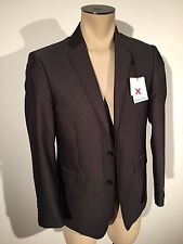 Calvin Klein Extreme Slim Fit Solid Gray Blazer 38S New $450.00