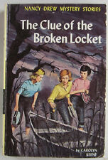 Nancy Drew #11 The Clue of the Broken Locket INTRODUCTION of FOURTH COVER ART HB