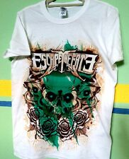 Escape The Fate shirt - skull and roses - size M