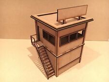 Edificio SCALA 1/32 RACE Steward Hut per Scalextric o MAGNETICO racing