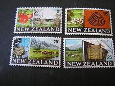 NEW ZEALAND, SCOTT # 416+418-420(3), TOTAL 4 1968-69 FOOD PRODUCTION ISSUE MH