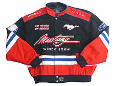 Mustang 40th Anniversary Jacket Ford 2XL Men's Black Red